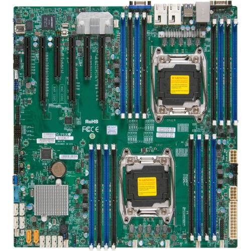 Supermicro MBD-X10DRI-T-O Supermicro X10DRi-T Server Motherboard Intel C612 Chipset Socket R3 (LGA2011-3)... by Supermicro