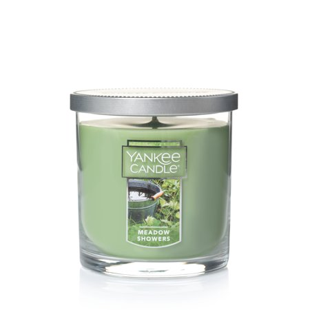 Yankee Candle Small Tumbler Scented Candle, Meadow Showers
