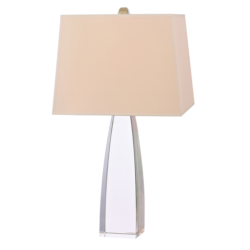 Hudson Valley Delano 1-Light Small Table Lamp w/ Polished Nickel - L484-PN-WS