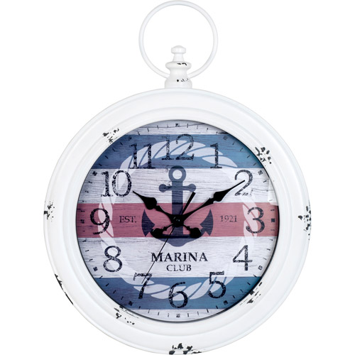 Better Homes And Gardens Ship Pocket Watch Clock
