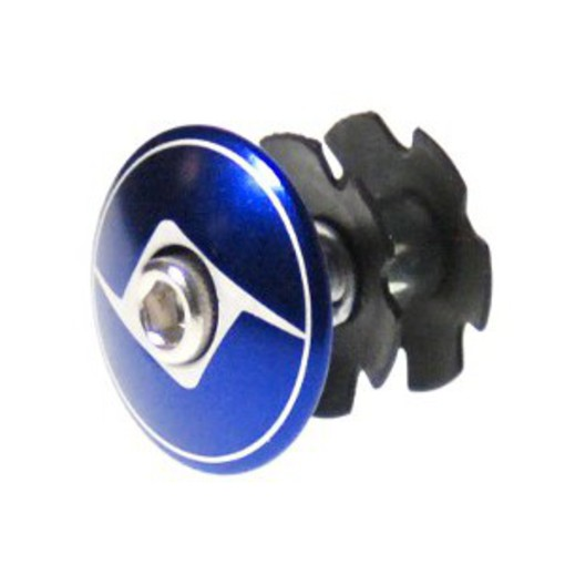 Origin8 Pro Pulsion 1-1/8-inch Blue Fixie Top Cap