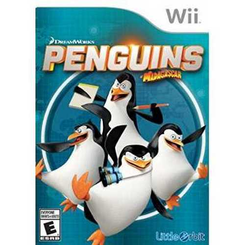 Refurbished Penguins of Madagascar - Wii