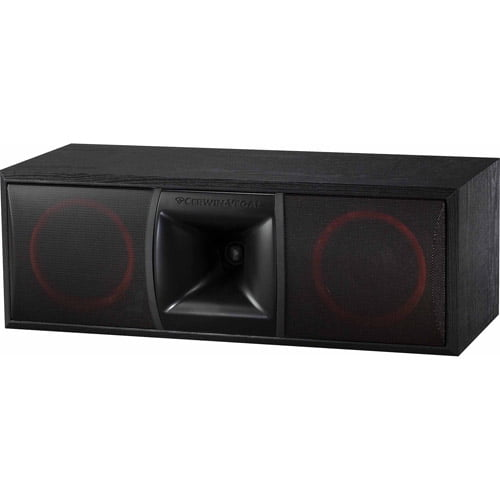Cerwin-Vega XLS-6C 2-Way Home Audio Center Channel Speaker by Cerwin-Vega