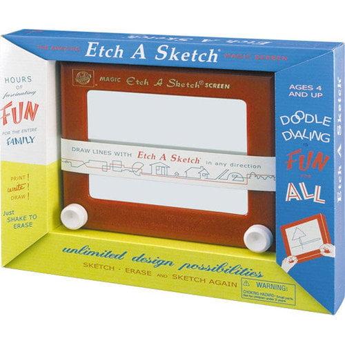 Ohio Art Etch A Sketch Classic Board in 1960 Box