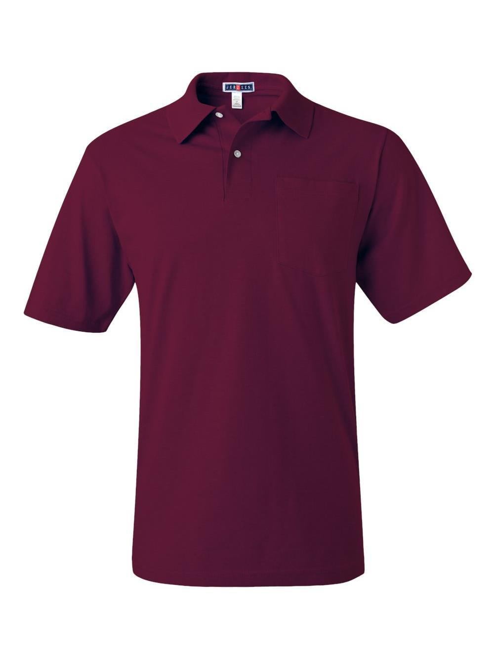 Jerzees Adult 5.6 oz. SpotShield™ Pocket Jersey Polo