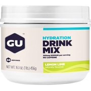GU Hydration Drink Mix: Lemon Lime, 24 Serving Canister