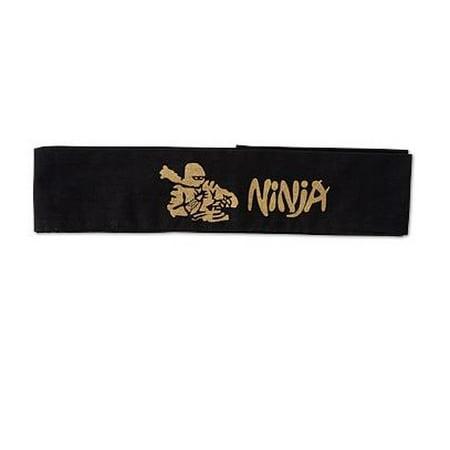 Black Ninja Headband (Ninja Headbands)