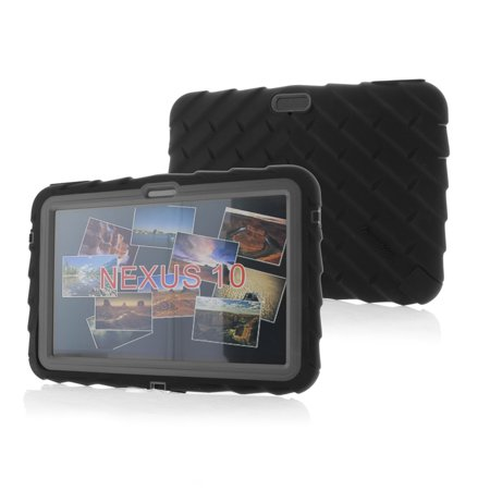 Gumdrop Cases Droptech For Google Nexus 10 Rugged Tablet Case Shock Absorbing Cover P8110