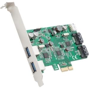 4PORT 2XUSB 3.0 2XSATA III PCIE X4 12MBPS REVISION 2.0 RENESAS
