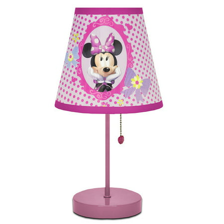 disney minnie mouse table lamp. Black Bedroom Furniture Sets. Home Design Ideas