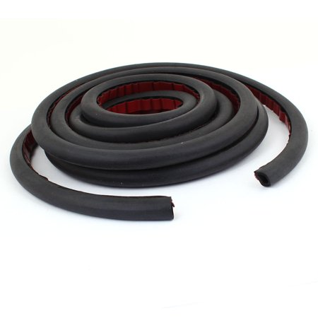 3.2 Meter D Type Rubber Hollow Air Sealed Seal Strip for Car Door Window - image 1 of 1