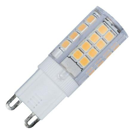 Bulbrite 770577 - LED3G9/30K/120 LED Bi Pin Halogen (Pig Led)