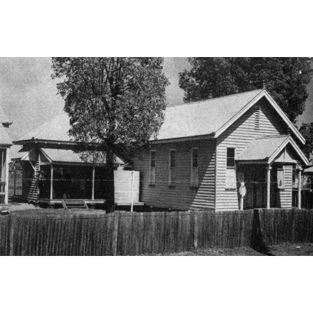 - Canvas Print Chinchilla Court House building, Queensland, 1938. The Court House was a timber building with a corr Stretched Canvas 10 x 14