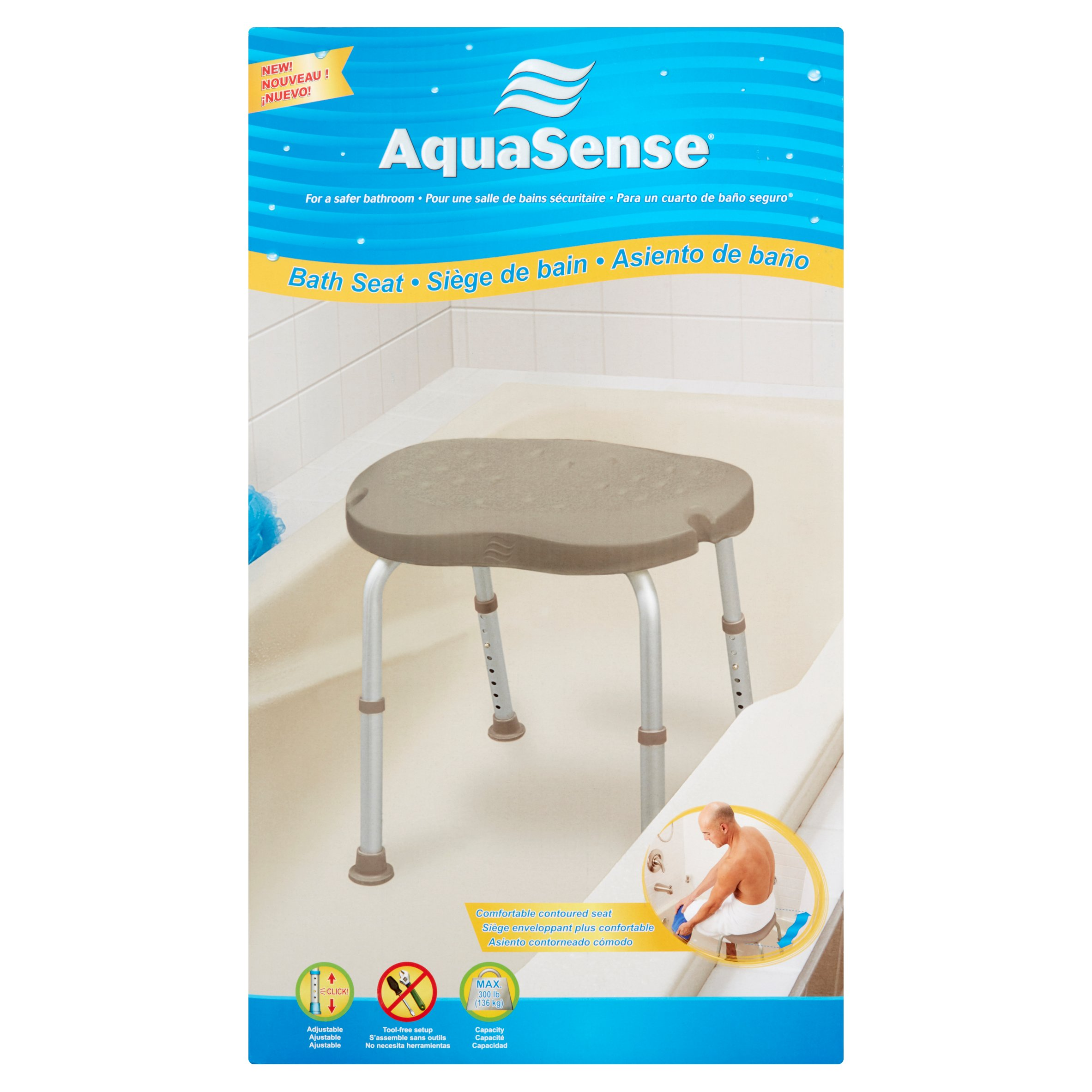 AquaSense Bath Seat
