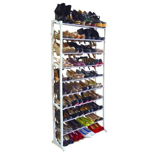 Linen Depot Direct 40 Pair Shoe Rack