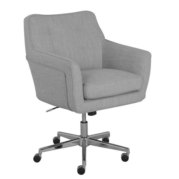 Serta Ashland Home Office Chair Light Gray Walmart Com Walmart Com