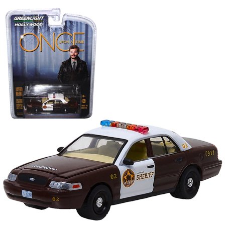 Once Upon A Time Greenlight Hollywood 2005 Ford Crown Victoria Police Interceptor 1:64