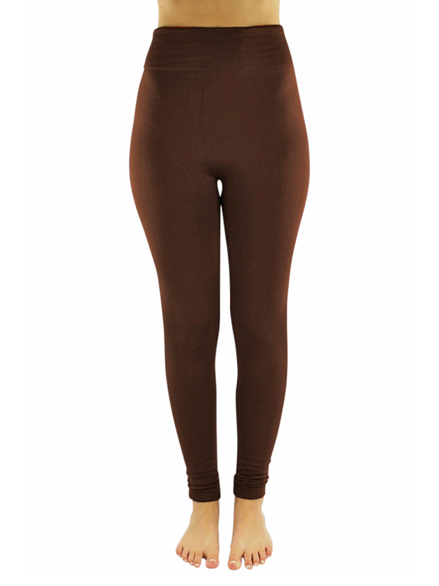 46a342dcc3ad8 Luxury Divas - Heavy Fleece Lined Leggings For Women - Walmart.com