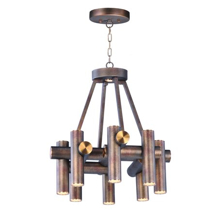 Maxim Lighting Tubular 20826BZFAB Chandelier