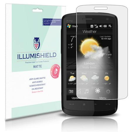 Illumishield Matte Screen Protector 3X For Htc Touch Hd   T828x   Blackstone