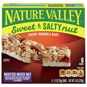 Nature Valley Sweet & Salty Nut Chewy Granola Bars, Roasted Mixed Nut 6 Ct 7.4 Oz