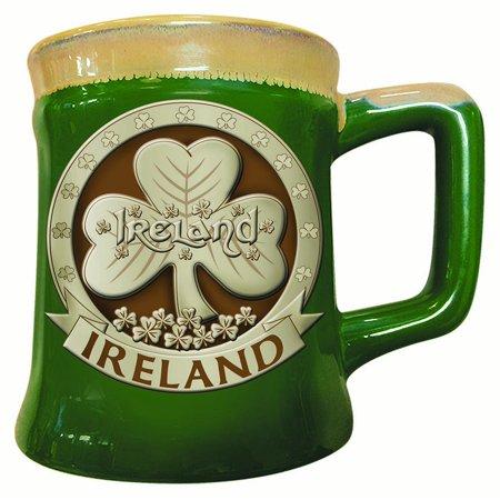 Belleek Pottery Ireland (Shamrock Ireland Pottery Mug )