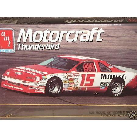 AMT Ertl Morgan Shepherd Motorcraft Thunderbird NASCAR 1990 Model Kit