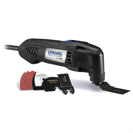 Dremel Mm20-07 Multi-Max 2.3 Amp Corded Variable Speed Oscillating Multi-Tool Kit, 6 Accessories