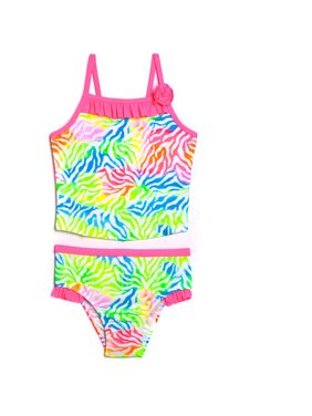 Product Image Toddler Girl Tie Dye Jungle Tankini Swimsuit b605ff70a
