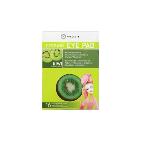 Absolute Cooling EYE PAD Kiwi Revitalizing & Dark Circle Care 16 Pads By Absolute by - Absolute Eye Care