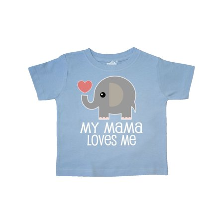 My Mama Loves Me Elephant Toddler T-Shirt