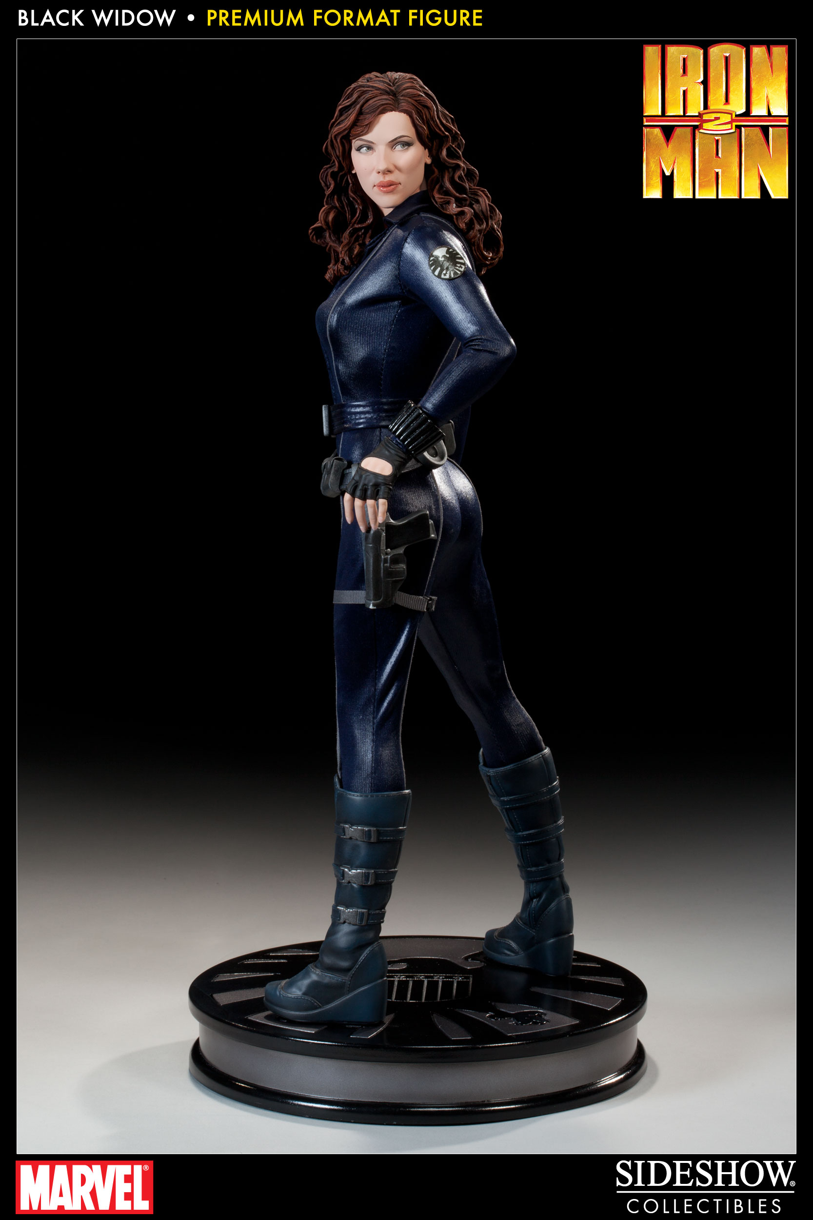 Avengers Black Widow Premium Format Scarlett Johansson Figure by Sideshow Collectibles