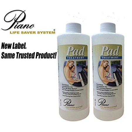 Dampp Chaser Piano Humidifier Pad Treatment 16 oz Bottle Value Pack