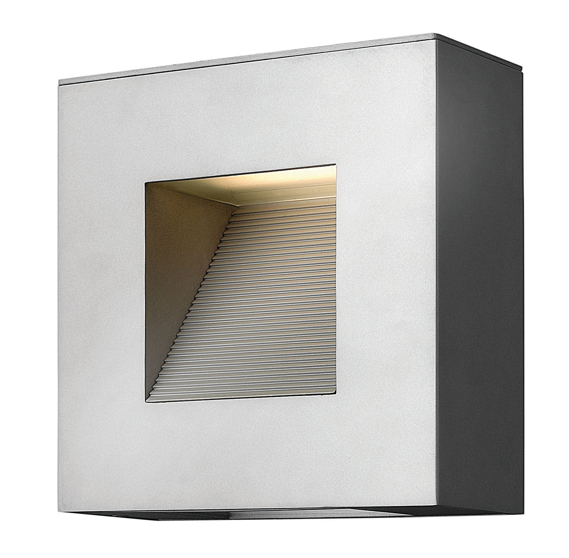 """Hinkley Lighting 1647-LED 9"""" Height ADA Compliant Dark Sky LED Outdoor Wall Sconce from the Luna Collection"""