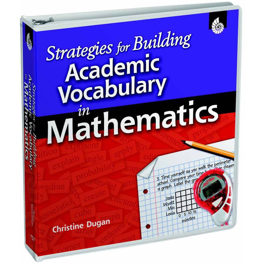 Shell Education Strategies for Building Academic Vocabulary, Multiple Types, Book And CD