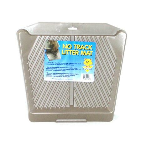 Booda Track Litter Mat (Color Titanium) - 1 Mat