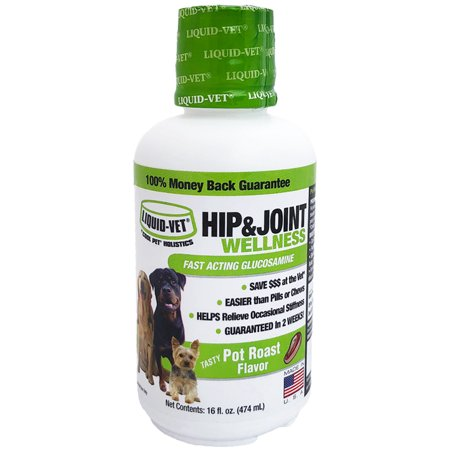 Liquid-Vet K9 Joint Wellness Fast-Acting Pot Roast