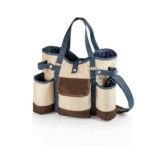 Picnic Time Wine Country Tote Cooler Set