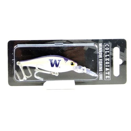 Washington Huskies NCAA Minnow Fishing Lure