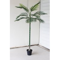 GwG Outlet Tall Potted Artificial Palm Tree CYF1269