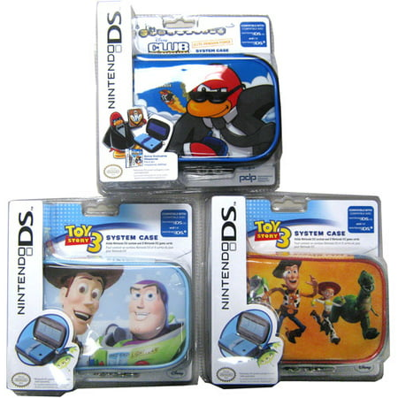 Club Penguin Or Toy Story 3 System Case  Nintendo Dsi  Ds And Dslite