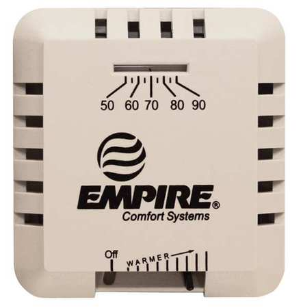 EMPIRE TMV Wall-Mount Thermostat, 750mV