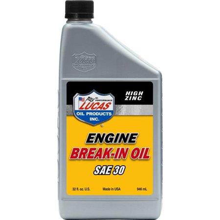 Lucas Oil LUC10630 1 qt. 30W Petroleum Break in Oil - image 1 of 1