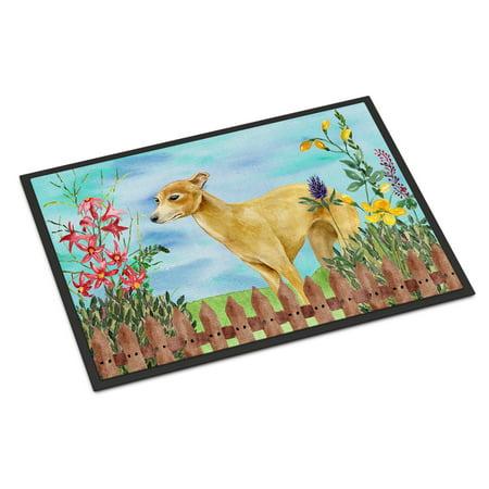 Italian Greyhound - Italian Greyhound Spring Door Mat