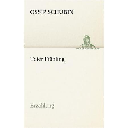 Toter Frühling (Paperback)