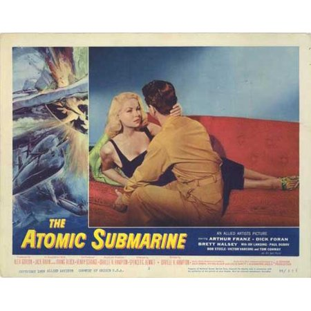 Atomic Submarine POSTER Movie H Mini Promo