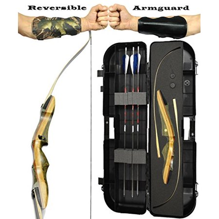 Spyder XL Takedown Recurve Bow - Ready 2 Shoot Archery Set | INCLUDES Bow, (Best Way To Shoot A Recurve Bow)