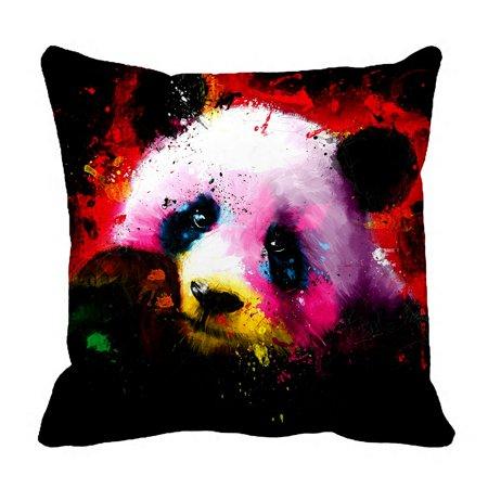 ZKGK Panda Art Pillowcase Home Decor Pillow Cover Case Cushion Two Sides 18x18 (Prada Home)