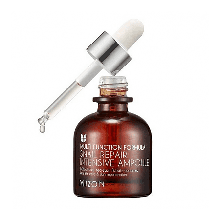 Mizon Snail Intensive Repair Ampoule 30Ml (Elastic, Anti-Wrinkle, Low Irritaion, Snail Serum)