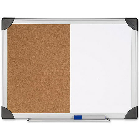 Lorell Dry Erase/Cork Combination Board, 18